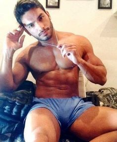 Shirtless pakistani hunks