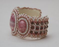 beaded embroidery cuff - Google Search
