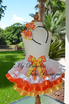 Cake Smash Outfit, Cake Smash Tutu, First Birthday Tutu, Candy Corn Tutus…                                                                                                                                                                                 More