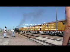 Union Pacific 844 from North Platte to Grand Island,NE on June 23 July 6...