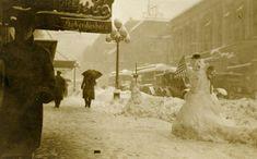Des bonshommes de neige à l'ancienne - La boite verte