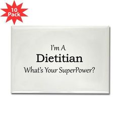Dietitian Rectangle Magnet pack) Dietitian Magnets by - CafePress Custom Fridge Magnets, Refrigerator Magnets, Printed Magnets, Image Cover, Homemade 3d Printer, Dietitian, Video Photography, Tool Box, Super Powers