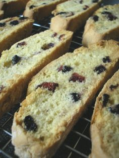 Cranberry and Blueberry Biscotti