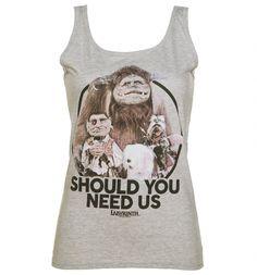 Ladies Labyrinth Should You Need Us Vest