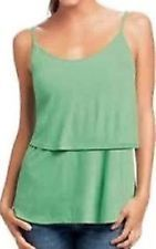 CAbi Spring 2014 Knit Tiered Cami - Size L - NWT