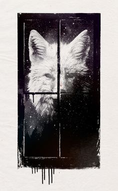 """Night window"" Art Print by Robert Farkas on Society6."