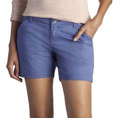 Women's Lee Essential Chino Shorts, Size: 4 - regular, Dark Blue