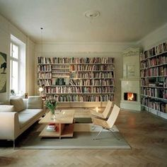 Organizing my home library.... As a Librarian, I always have the urge to organize my books by not only author, but genre as well. While not everyone may have this urge, it can surely be helpful to have your personal library...