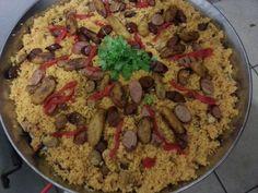 Paella jibara