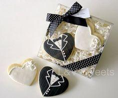 Bride an Groom cookies