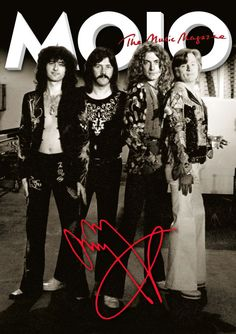April 2015 MOJO #257 Jimmy Page Signature Cover