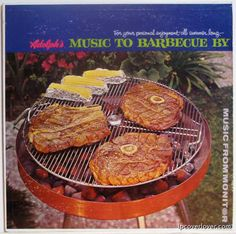 Various Artists - Adolph's Music to Barbecue By: For Your Personal Enjoyment All Summer Long (Brought to you by Adolph's Meat Tenderizer) (c. 1960)