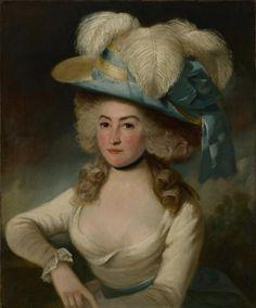 Portrait de Femme - John Hoppner 1786