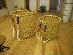 Traditional Japanese Bamboo Basket Making