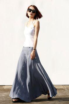 He encontrado este interesante anuncio de Etsy en https://www.etsy.com/es/listing/239324170/romantic-maxi-skirt-long-linen-skirt-in