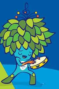 this funny buddy is the mascot for the 2016 paralympics he is a magical creature mixing all the plants of the brazilian forests Brazil Olympics 2016, 2018 Winter Olympics, Brazil 2016, Olympic Mascots, Olympic Games, Olympic Idea, Going For Gold, Cute Gif, Art Activities
