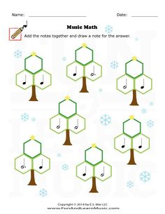 Holidays - Music Math - SproutBeat