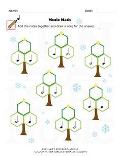 Holidays - Music Math - SproutBeat