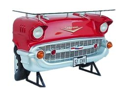1957 Red Chevy Bel Air Bar Table