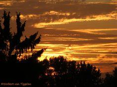 Sonnenuntergang, Himmel, Natur, Abend,