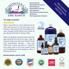 Emu Oil, Growth Hormone, Carrier Oils, Massage Oil, Pure Essential Oils, Real People, 100 Pure, Montana, Moisturizer