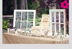 Listas de mesas para boda muy originales