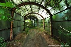 Abandoned Amusement Park Tunnel | Japan's abandoned Jungle theme park #1 outside | Michael John Grist