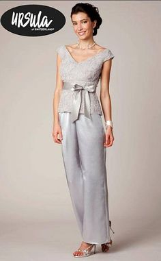 Elegant+Evening+Pant+Sets | Ursula Rose Tulle Dressy Pant Set 11237 image