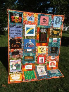 Kelsey's T-shirt quilt | Made for my daughter to take to col… | Flickr