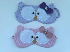 Mascaras de dormir corujinhas :-)