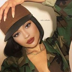Kylie Jenner shared by ♡ on We Heart It Kim Kardashian Kylie Jenner, Looks Kylie Jenner, Kylie Jenner Makeup, Kylie Jenner Outfits, Kylie Jenner Style, Kendall And Kylie Jenner, Kris Jenner, Miss Perfect, Jenner Sisters