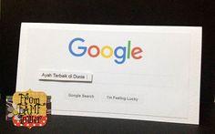 Diy Kad Hari Bapa Tema Google From Famf Tower Paper Craft Projects Greeting Cards Handmade Paper Crafts