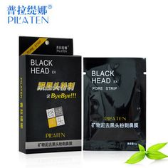 Beauty Care Face Care Nose herbal Blackhead Remover mask face pore strip 6pcs/lot