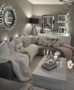 60 affordable apartment living room design ideas on a budget 52 Living Room Decor Cozy, Bedroom Decor, Bedroom Ideas, Living Room Goals, Glamour Living Room, Bedroom Beach, Bedroom Romantic, Bedroom Girls, Bedroom Rustic