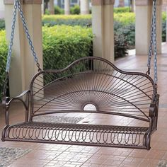 I pinned this Sun Ray Porch Swing from the Style Study: Southern Plantation event at Joss and Main!