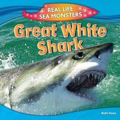 18640721                Want to Read                    Rate this book    1 of 5 stars2 of 5 stars3 of 5 stars4 of 5 stars5 of 5 stars    Great White Shark by Ruth Owen 597.3 OWE Great white sharks have been cruising the world's oceans for over 400 million years. With up to 3,000 teeth, a mouth that can open up to 4 feet wide, and weighing up to 5,000 pounds, it's no wonder this shark rests at the top of the ocean's food chain.