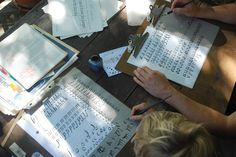 mamascout: exploration lab:: calligraphy