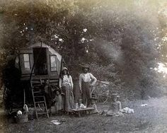 A REAL GYPSY HOME...back in time. They now have metal Trailers. I like this look better!