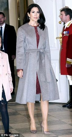 The past year has been a whirlwind of social engagements and royal duties for Crown Princess Mary. Here Femail looks back at the Australian-born royal's most notable fashion moments of 2016.