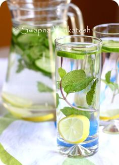 Food for Swaps: Detox Water for a fresh start in 2013!