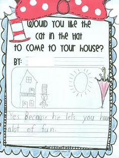 First Grade Fever!: Dr. Seuss