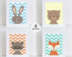 Descargar lámina de conejo conejo lámina por DecorartDesign en Etsy