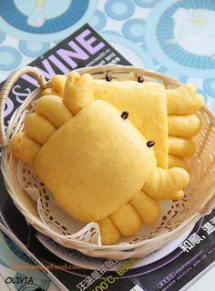 Pumpkin Bun Recipe (Bánh Bao Bí Đỏ)