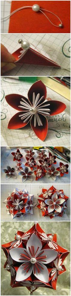 DIY : Kusudama Flower & Ornament