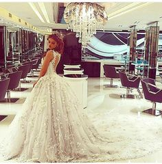Ball gown love the detail and the hair