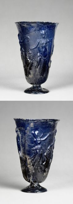 Goblet with Dionysian decoration Late first or early second century AD Near East (?)