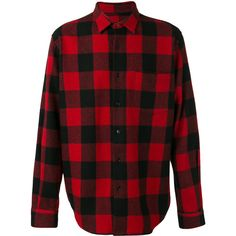 Ami Alexandre Mattiussi plaid shirt ($335) ❤ liked on Polyvore featuring men's fashion, men's clothing, men's shirts, men's casual shirts, black, mens tartan shirt and mens plaid shirts