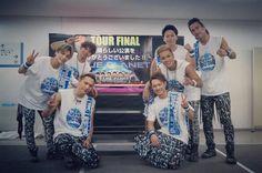 Imaichi Ryuji & Tosaka Hiroomi &  Iwata Takanori & Yamashita Kenjiro & Elly & Naoto & Naoki #Sandaime J Soul Brothers