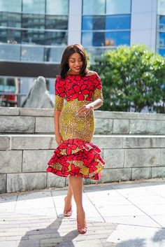 What To Wear This Holiday And Beyond - Jadore-Fashion African Dresses For Kids, African Wear Dresses, Latest African Fashion Dresses, African Print Fashion, Ankara Fashion, Africa Fashion, Tribal Fashion, African Prints, African Fabric