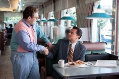Still of Leonardo DiCaprio and Jonah Hill in The Wolf of Wall Street (2013)